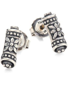Penelope Sterling Silver Scroll Earrings