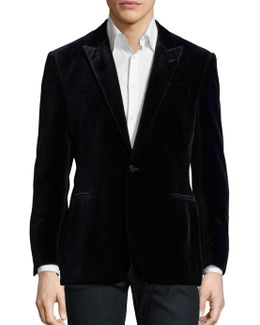 Connery Peak Lapel Suit Jacket