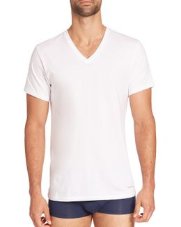 Two-pack Cotton Classic V-neck Tee