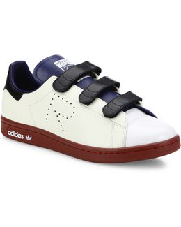 Stan Smith Leather Low-Top Sneakers