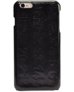 Numbers Leather Iphone 6 Case