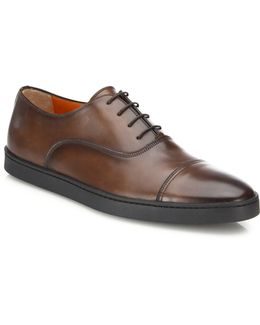 Italian Leather Lace-up Dress Shoes