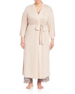 Plus Size Shangri-la Robe