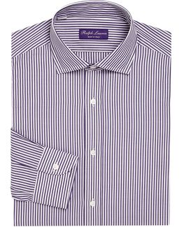 Purple Label Regular-fit Bond Striped Dress Shirt