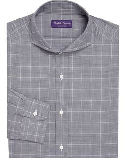 Regular-fit Keaton Plaid Dress Shirt