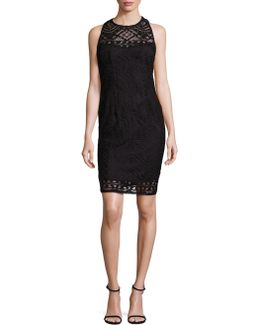 Crossback Lace Dress