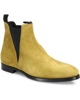 Zach Suede Chelsea Boots
