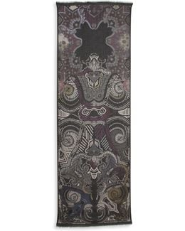 Printed Cashmere Blend Stole