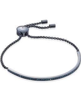 Sable Pave Slider Bracelet