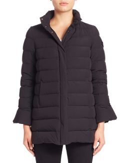 Fuscello Bell Sleeve Down Jacket