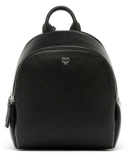 Polke Studded Leather Backpack
