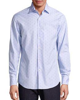 Gancini Striped Shirt