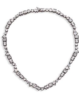 Jagged Edge Strand Necklace