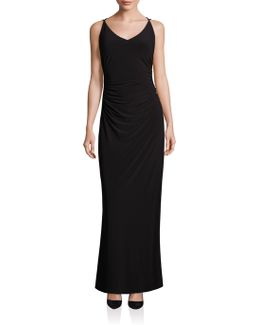 Crossback Gown