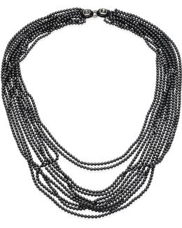 Multi-strand Faux-pearl Necklace