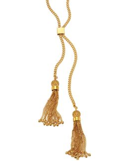 Lynn Long Chain Tassel Necklace