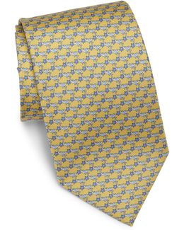 Dolphin & Star Silk Tie
