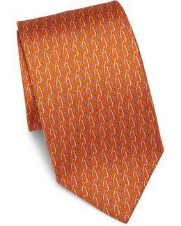 Giraffe Silk Tie