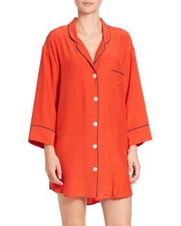 Silk Marina Sleepshirt