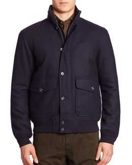 Stockport Wool-blend Jacket