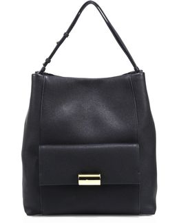 Bessie Leather Hobo Bag