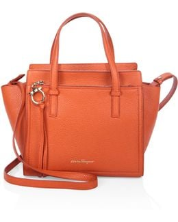 Amy Mini Leather Tote