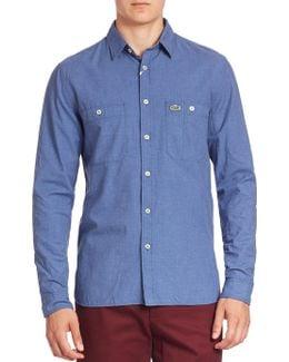Long Sleeve Button-down Shirt
