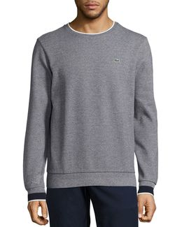 Semi-fancy Piqué Sweatshirt