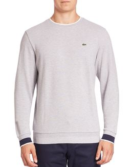 Semi-fancy Pique Crewneck Sweatshirt