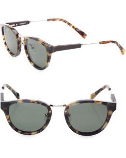 29mm Ainsworth Vintage Tortoise Polarized Sunglasses