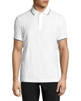 Will Slim-fit Jersey Polo Shirt