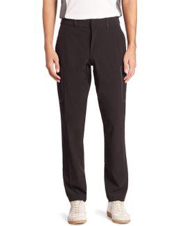 Slim-fit Solid Dress Pants
