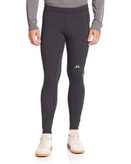 Paneled Running Tights