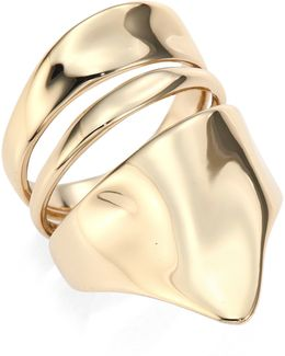 Liquid Gold Armor Ring