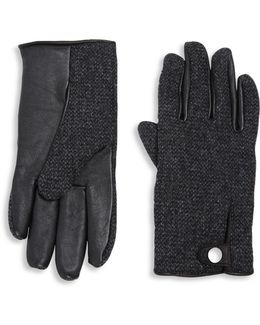 Smart Wool Blend Gloves