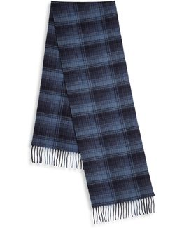 Wool & Cashmere Blend Scarf
