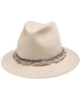 Unibrow Wool & Rabbit Felt Fedora