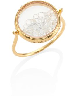 Diamond & 18k Yellow Gold Chivor Ring
