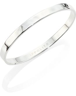 Sensotm Medium Sterling Silver Bangle Bracelet