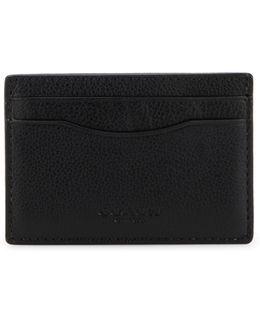 Midnight Leather Card Case