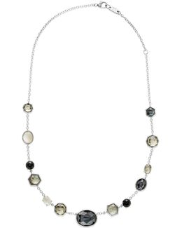 Rock Candy? Sterling Silver Mixed Stone Necklace