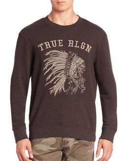 Chief Embroidered Sweatshirt