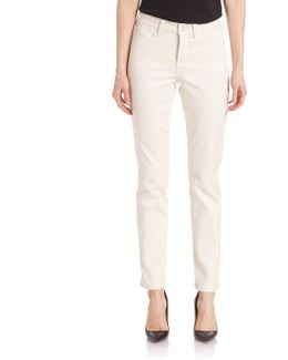 Solid Slim-fit Jeans