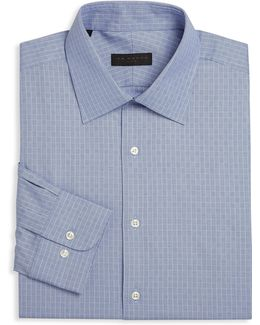 Geometric Dress Shirt