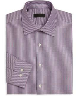 Striped Regular Fit Dress Shirt