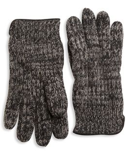 Knit Cashmere Gloves