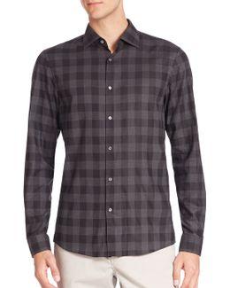 Enzo Slim-fit Checkered Shirt