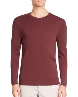 Cashmere Interlock Sweater