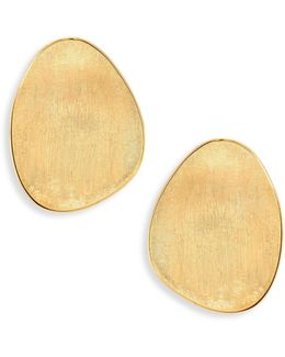 Lunaria 18k Yellow Gold Statement Earrings