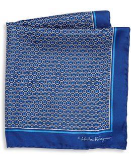 Ganci Rope Pattern Silk Pocket Square